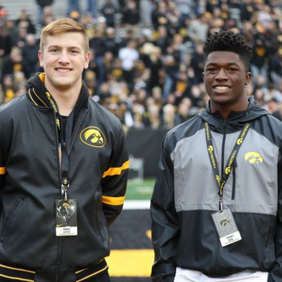 Iowa football: Incoming Hawkeye Henry Geil has stories to tell, and hopes for many left to write