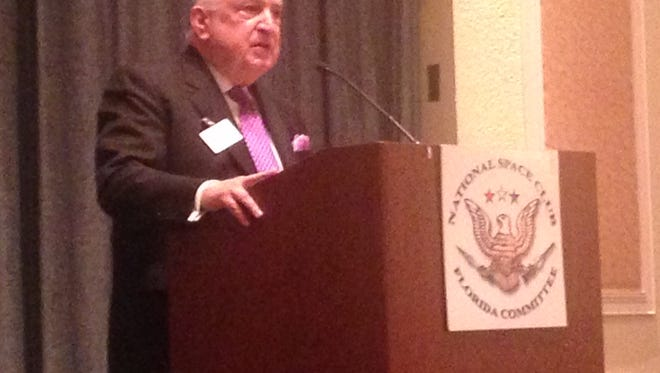 Frank DiBello speaks on the future of space exploration and technology development at the Cape.