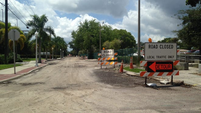 Utilities work on Cottage Avenue will necessitate a change in drop-off and pick-up for students at St. Francis Xavier Catholic School in Fort Myers.