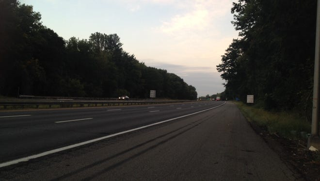 Route 287 at dawn
