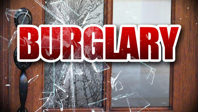 Reno police are looking for two men involved in a report of a home burglary. Officers found an elderly man hurt at the home.