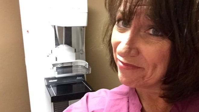 Hugging a monster piece of equipment with my breasts flattened between two plates is not my idea of fun, but my grandmother and great-grandmother died of breast cancer. I figure I'm fortunate to live in a time when there's a means of early detection that could save my life.