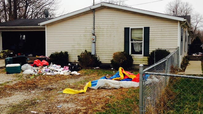 Police busted a meth lab in this Whitely residence over the weekend.,
