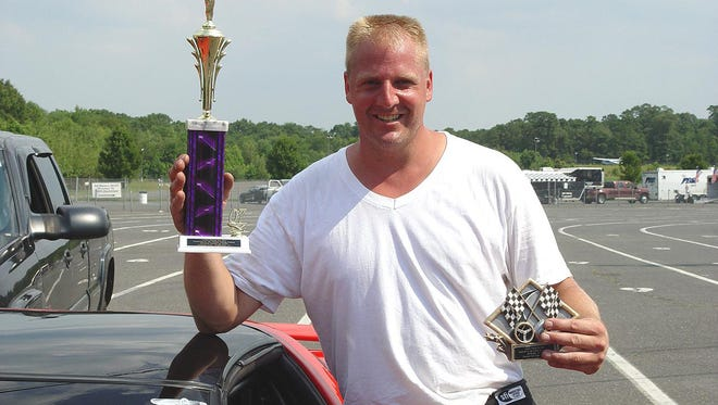Mike Conway, seen here at Raceway Park, was murdered at his Freehold Township home in 2011.