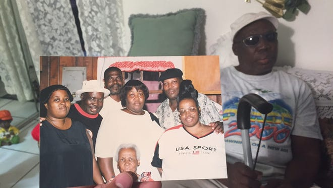 An undated family photo of Barbara Dawson with her father next to her. St. Petersburg-native Roosevelt Scott (seen also in the background) spoke about his daughter's death recently to 10 News WTSP.