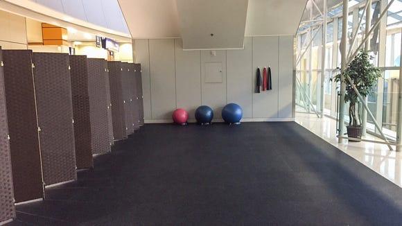 DFW's second yoga studio is tucked under the Skylink