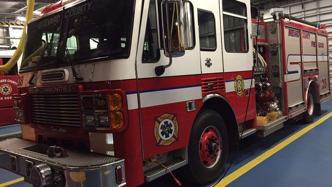 The Four Communities Fire Department serves five areas in central and north Brevard.