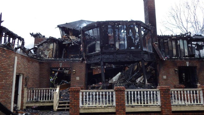 A Jan. 9 fire caused by a hoverboard destroyed this Radcliff Drive home in Nashville.