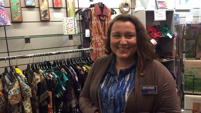 Loretta Fritsch of Memorial Art Gallery Store
