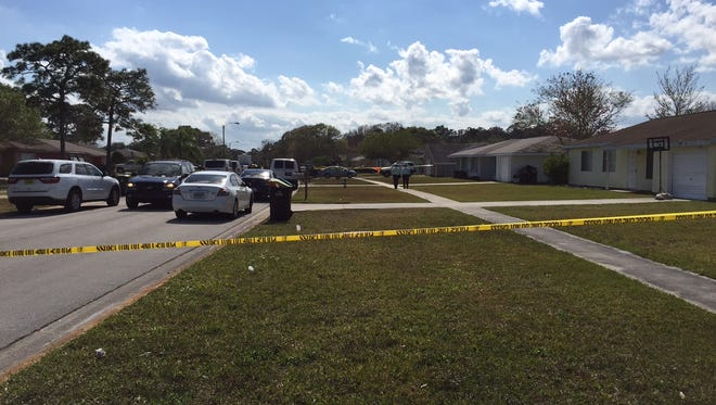 A 39-year-old man who Palm Bay police said made threats to a construction crew over noise at a home under renovation, was shot and killed by officers after waving a gun in his doorway.