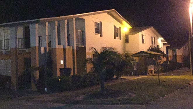 Two were injured at an incident at the Village Green apartment complex on Tuesday evening.