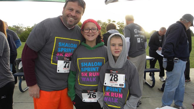 The Shalom Sprint 5K Walk/Run will take place Sunday in Blue Ash's Summit Park. All proceeds will benefit residents of the Shalom Center, the only free elder abuse center in Ohio.