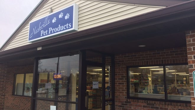 Nashville Pet Products Center, 2124 W. 9th Ave, opened its doors Friday, offering a selection of holistic pet food.