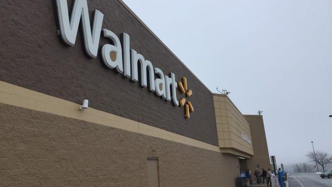 The Walmart in Shrewsbury