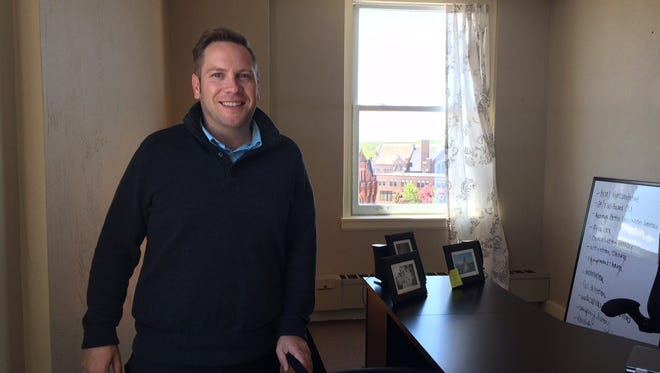 Justin Hatcher is co-owner of Hope Senior Solutions, a consulting firm that helps seniors navigate a move into assisted living.