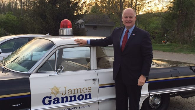 James Gannon, winner of the 2016 GOP primary election for Morris County sheriff