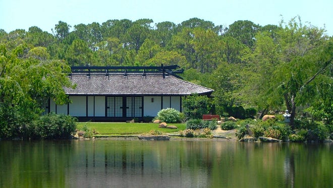 The Morikami Museum and Japanese Gardens in Delray Beach.