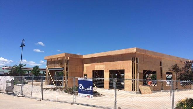 Work on Fond du Lac's east-side Starbucks is underway.
