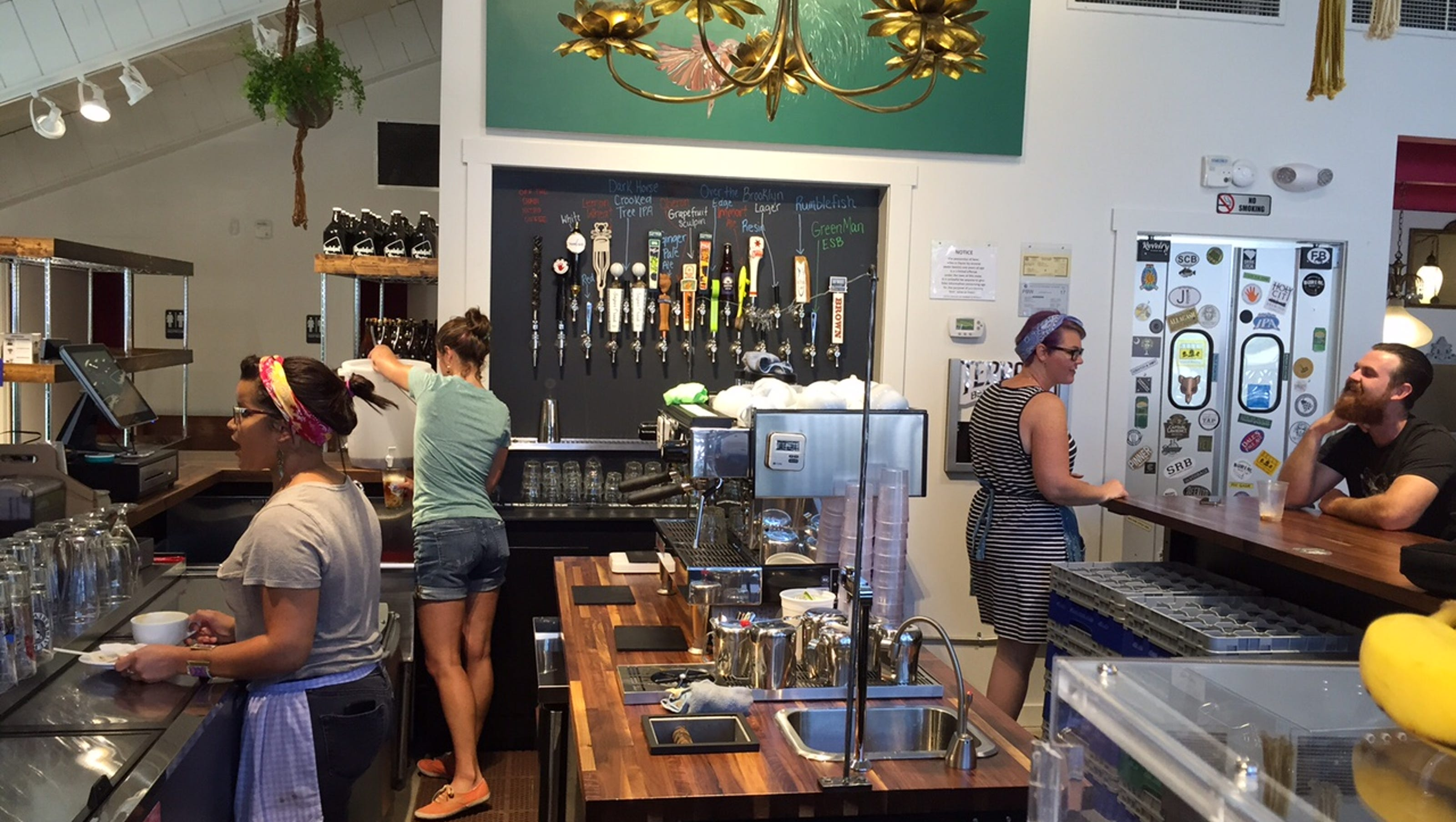 New Greenville Tap House Serves Up Coffee And Beer