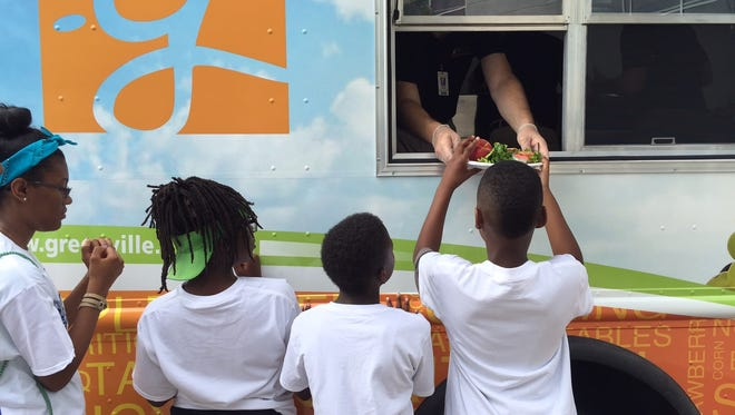 Greenville County Schools has added a food truck to its food and nutrition programming.