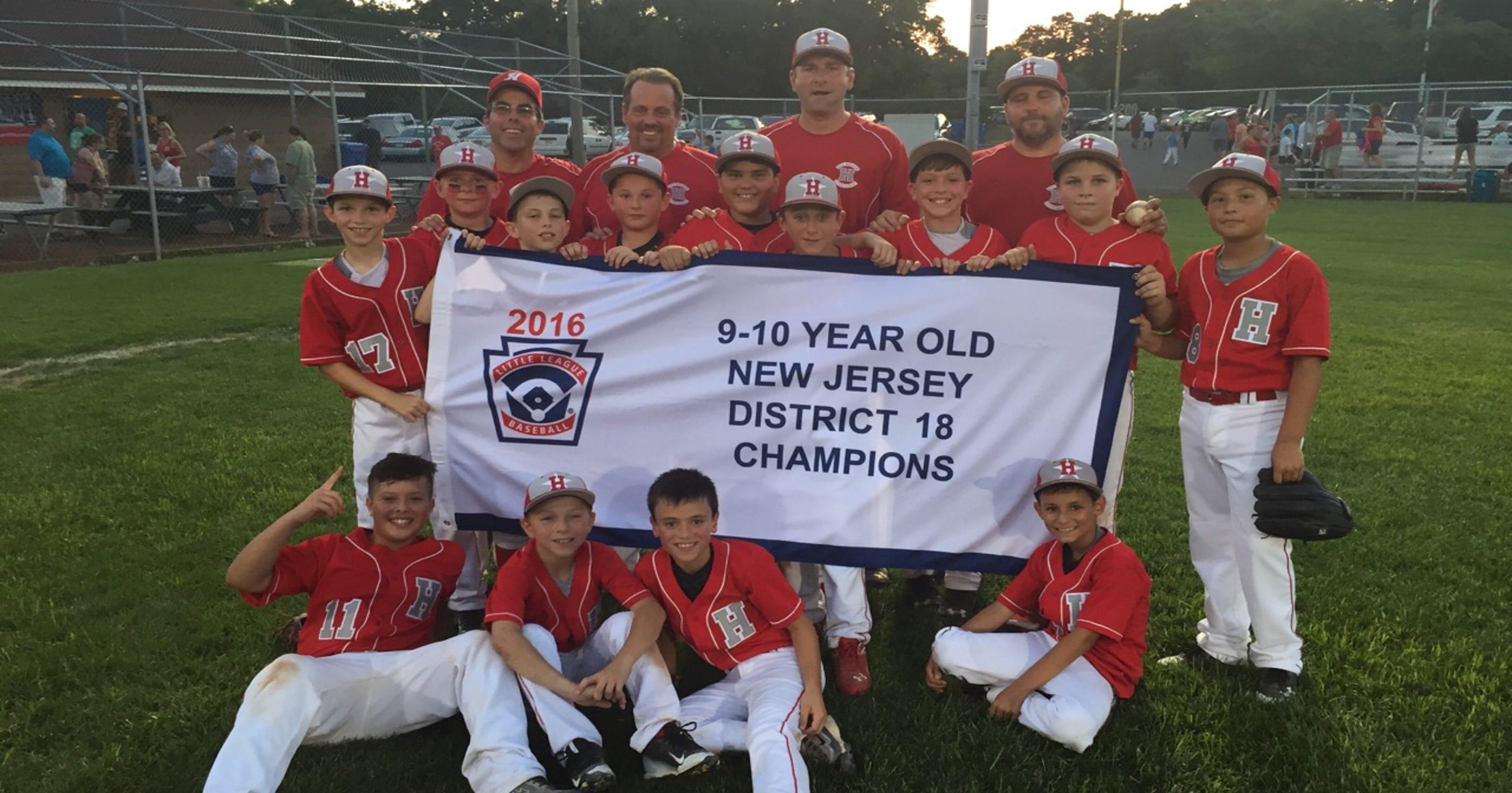 Little League: Holbrook wins District 18 10U championship