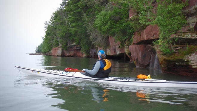 Steve Meurett and friends ventured around the Apostle Islands recently.
