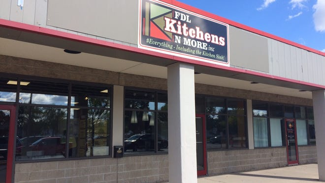 FDL Kitchens N More, 19 W. Scott St., is now open, offering a range of home improvement options in its showroom.