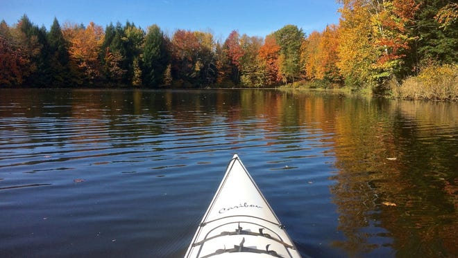 Otter Creek is a place all paddlers need to venture during the fall.