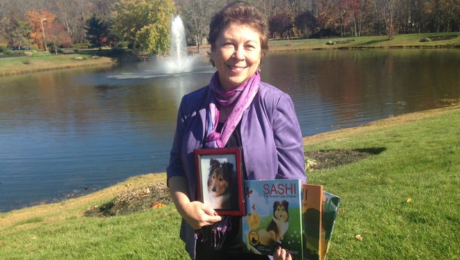 Mount Laurel-based author Linda Greiner has written three children's books that deal with rescuing, fostering and caring for Shetland Sheepdogs. Greiner's series is based on true life stories about her dogs, including the late Sashi, who the series is based on.