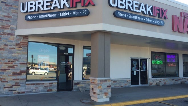 Tech repair shop uBreakiFix is now open along Koeller Street.