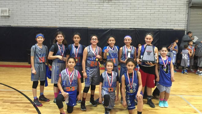 The El Paso Wild girls sixth-grade basketball team won the 2016 Alpha Holiday Classic this weekend. The finals' Most Valuable Player was Bri Vargas. The Wild defeated the Hustle in the championship game. The Alpha Holiday Classic Series is a series of boy and girls grade-level-based tournaments that will take place every weekend until December. Every weekend will feature a different grade level. For more information, call 471-3203.