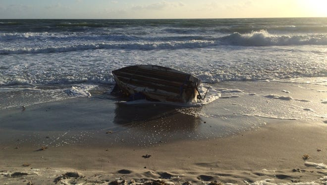 Satellite Beach police disposed of a raft that is believed to be from Cuba.