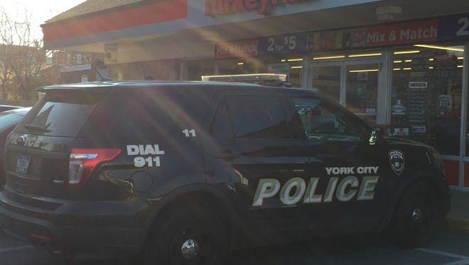 York City Police are investigating a robbery at the Turkey Hill on Roosevelt Avenue on Sunday.