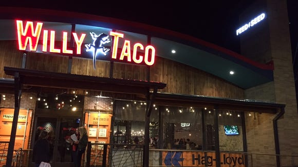 Willy Taco Feed & Seed opens this week.