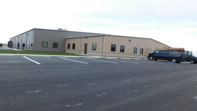 Sandco Industries is moving this month into its new building on Premier Drive In Clyde.