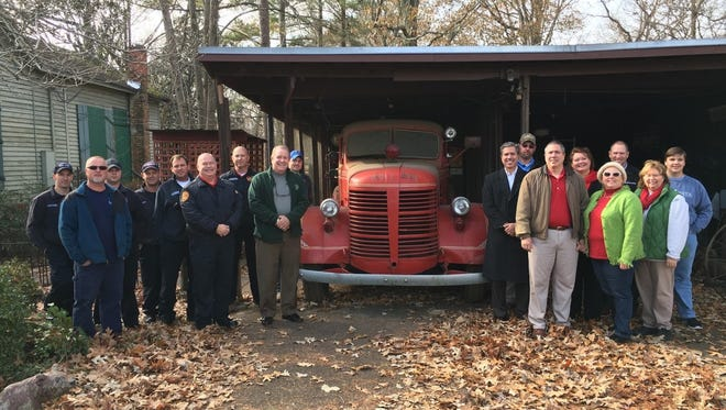 Funds are being raised for the restoration of Germantown's Red Devil 1 fire truck.