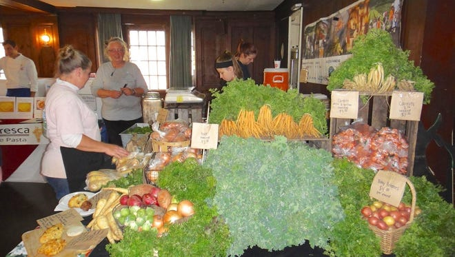 An indoor farmers' market is being co-sponsored by the Northern New Jersey chapter of Slow Food USA and Maplewood Loves Wellness.