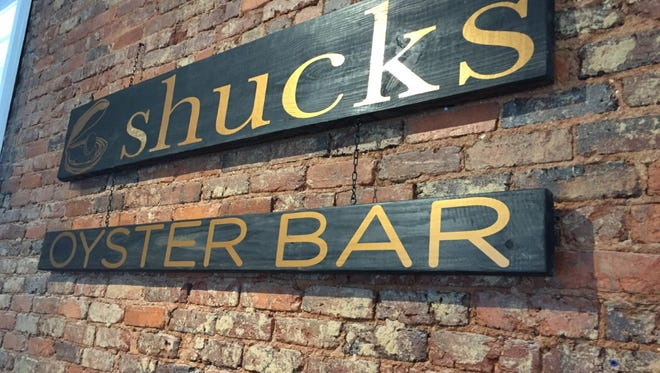 Shucks Oyster Bar in Anderson will open at 4 p.m. Jan. 31.