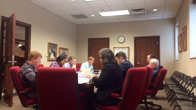 The City of Jackson Budget Committee discusses ways to increase revenue at its meeting on Wednesday.