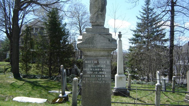 A West Milford man who died in the Civil War Libby Prison is buried in the West Milford Presbyterian Church Cemetery.