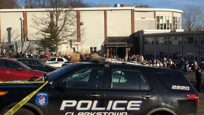 A Central Nyack nursing home was evacuated Friday afternoon after police received a report of explosives in the building.