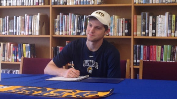 West Henderson senior Tyson Hichman has signed to play college soccer for UNC Greensboro.