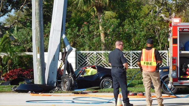 John Pierce Keller was killed March 9, 2017, in a crash on State Road A1A in Indian River Shores.