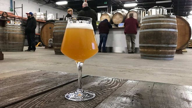 Hudson Valley Brewery in Beacon serves a diverse array of sour ales.