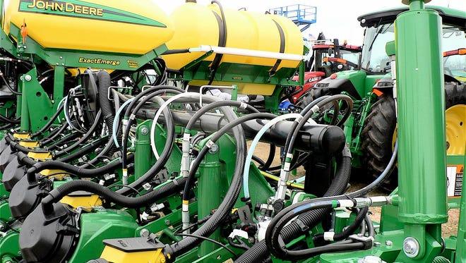 FILE PHOTO - A pre-season plant checklist for corn planters helps planting success.