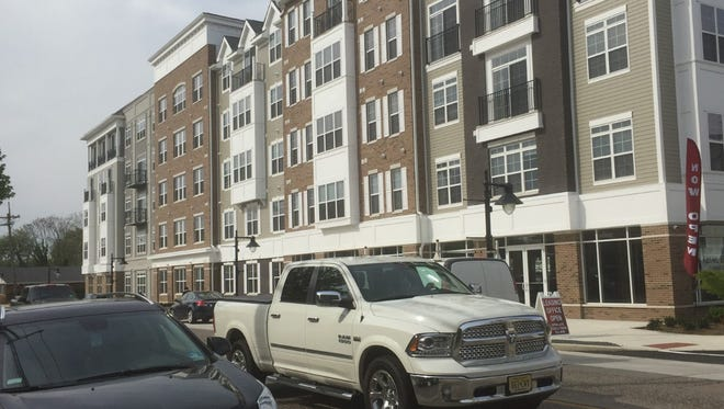 Haddon Towne Center, in the works in Westmont since 2003, is now offering apartments with help from authors.