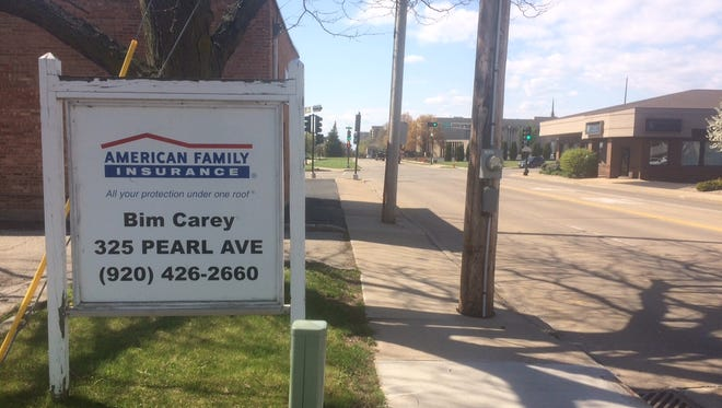 Bim Carey's insurance agency office at 325 Pearl Ave. will close at the end of May as Carey retires.
