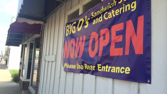Big D's Sandwich Stand is now open in the 1000 block of Oregon Street.