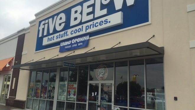 Five Below, a retailer that sells goods geared for teens at $5 or less, is set to open in Oshkosh.