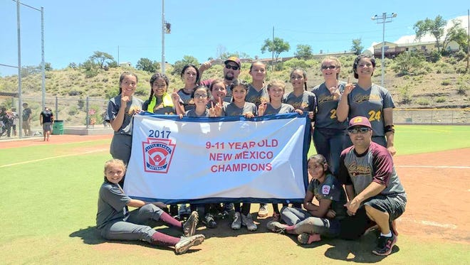 The Copper All-Stars captured the state crown by beating Belen, 15-2, this past week. The squad also went undefeated the entire tournament - since district.